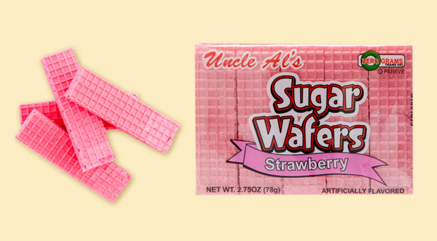 Uncle Al's Strawberry Sugar Wafers