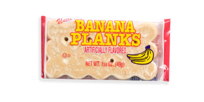 Uncle Al's Banana Planks