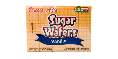 Uncle Al's Vanilla Sugar Wafers